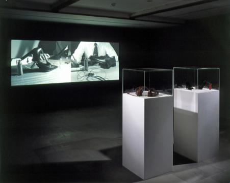 Shoe Morse 2004. Lisson Gallery, London