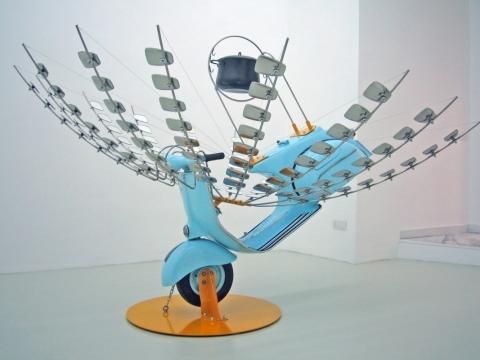 Shivavespa 2005, Umberto Di Marino Arte Contemporanea, Naples