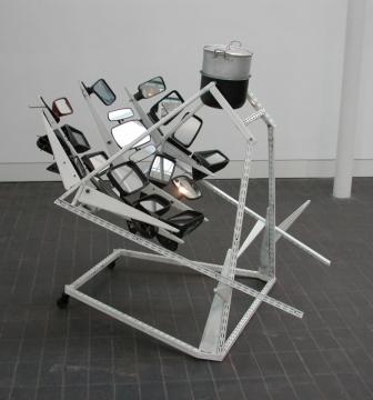 Sun Culinare 2000, steel & wing mirrors. Jerwood Gallery, London