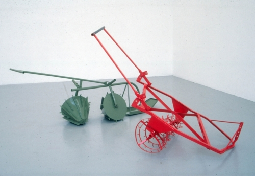 Untitled (Low-Land-Rice) 1999, painted steel. Saatchi Gallery , London